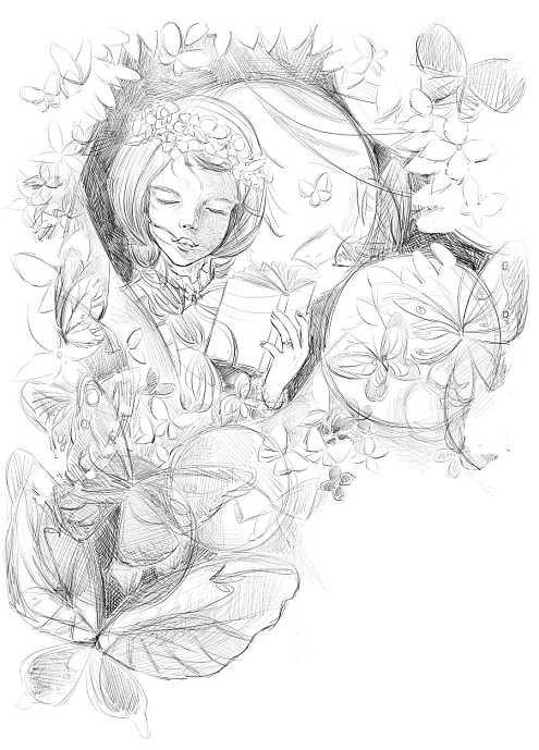 表情 绿山墙的安妮简笔画 2 简笔画 艺美术 表情