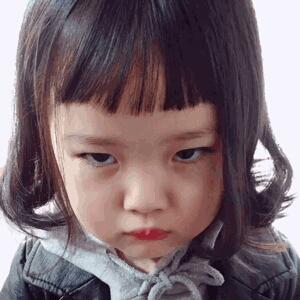 表情 权律二最新萌照 律二头像 萌娃头像女生可爱嘟嘴 律二 奇奇下载网