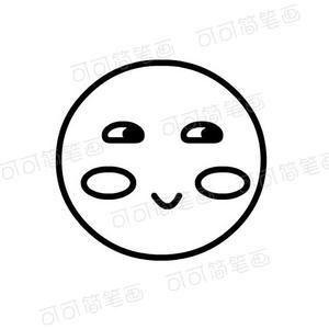 表情 面部表情简笔画厌恶 第1页 一起QQ网 表情