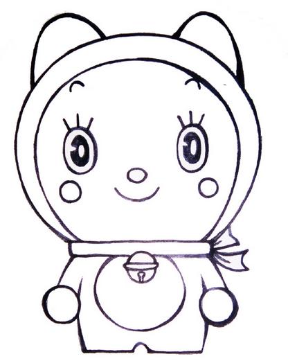 表情 迷之简哆啦 妹妹表情包摇摆的A梦の哆啦笔画美 沪江 表情包之园 表情