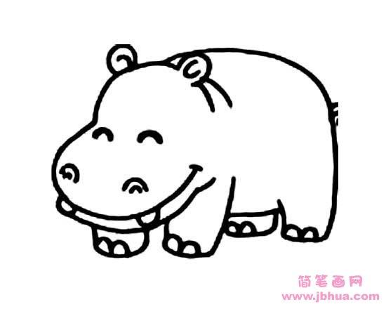 表情 小动物简笔画 可爱小松鼠 简笔画网 表情