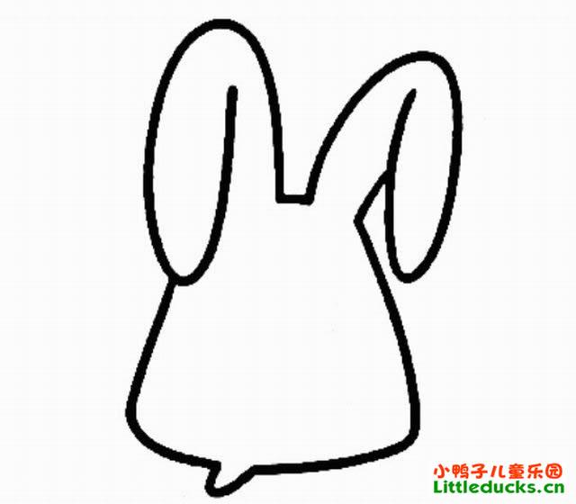 表情 儿童简笔画教程 简笔画兔子的画法 如何画兔子简笔画简笔画教程