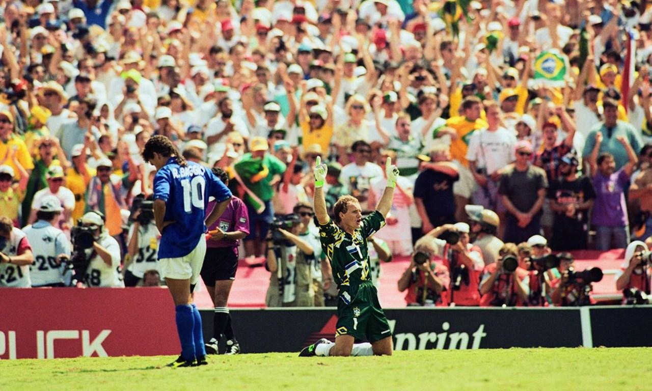 败倒在12码点的世界杯球星 巴乔背影成经典