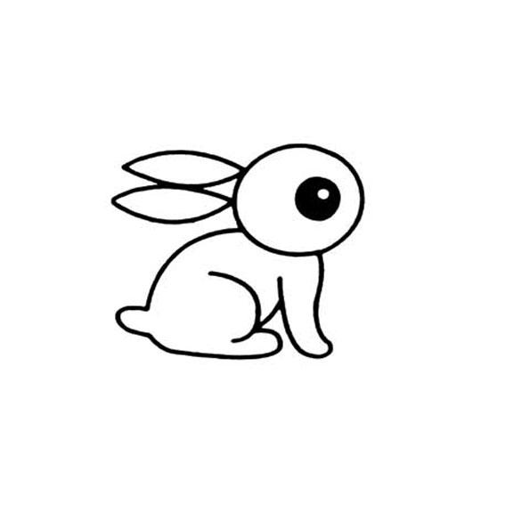 表情 简笔画小兔子画法 育才简笔画 表情