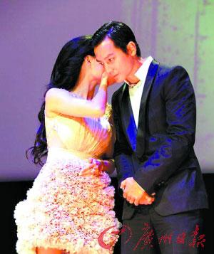 表情 粉嫩张柏芝现身纽约为中国电影节捧场 图 搜狐娱乐 表情