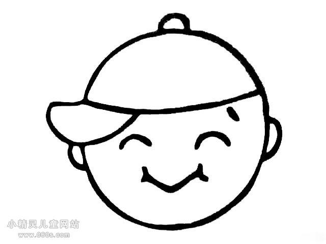 表情 孩子笑脸表情简笔画 动画笑脸表情简笔画 简笔画创意笑脸表情 孩子搞怪  表情