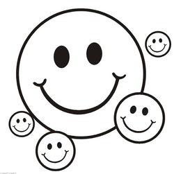 表情 卡通笑脸简笔画 开心笑脸简笔画 开心笑脸图片大全 梨子网 表情