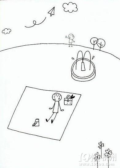 表情 分享一组简单易学的火柴人简笔画素材,马了慢慢画哦 口水 口水乐园  表情