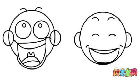表情 带表情的简笔画 失落的表情简笔画 表情简笔画牵手简笔画 夸张人物表情简  表情