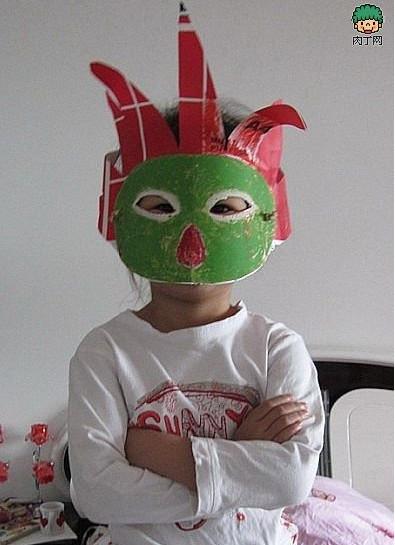 表情 万圣节面具制作方法图片详解 万圣节面具怎么做 制作方法图片详