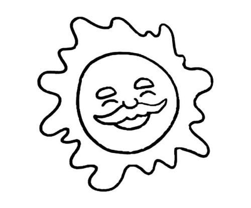 表情 太阳简笔画 100种动物简笔画步骤图 100种水果简笔画涂色 6简笔画 易易下载站 表情