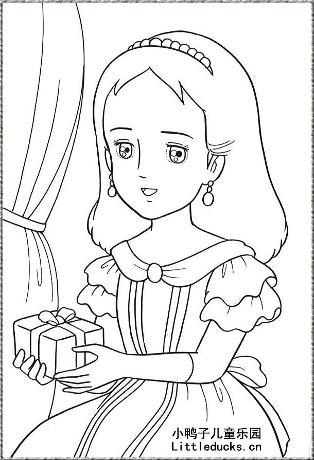 表情 卡通人物简笔画图片 小公主简笔画 9 可爱公主简笔画大全卡通动漫人物  表情图片