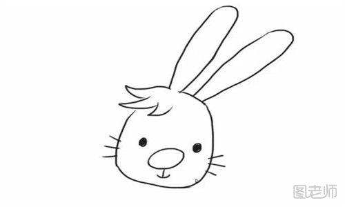 表情 图 小兔子怎么画看书的小兔子简笔画教程 图老师 表情