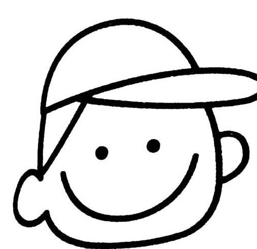 表情 创意笑脸表情简笔画图片 温暖的笑脸 3 5068儿童网 表情