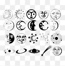 表情 人脸简笔画素材 免费下载 人脸简笔画图片大全 千库网png 表情图片