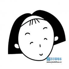 表情 人物头像简笔画大全 可可简笔画 表情