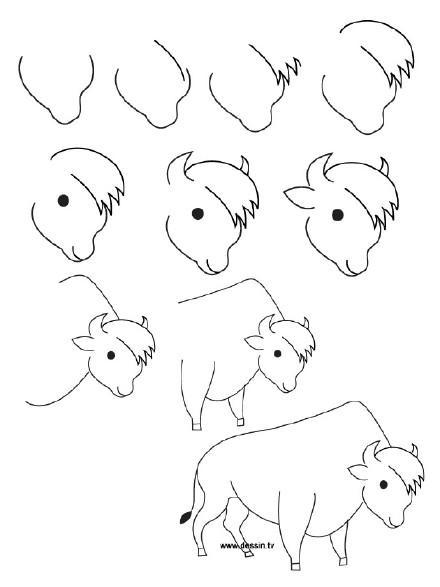 表情 简笔画课堂 可爱小动物简笔画,看了都有想学的欲望 表情