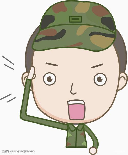 表情 图 微信表情军人敬礼 表情包之园 表情