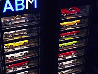 新加坡现豪车自动贩卖机 15层高分分钟买法拉利