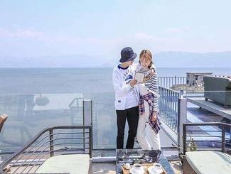 """孙铱微博晒""""结婚照"""" 这对新婚夫妻有点甜"""