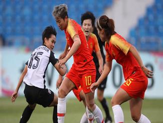 中国女足3-1泰国 铿锵玫瑰获亚洲杯第三