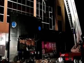 广西一酒吧发生屋顶坍塌