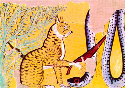 猫神巴斯特上升为国家的神,不光是埃及民众的