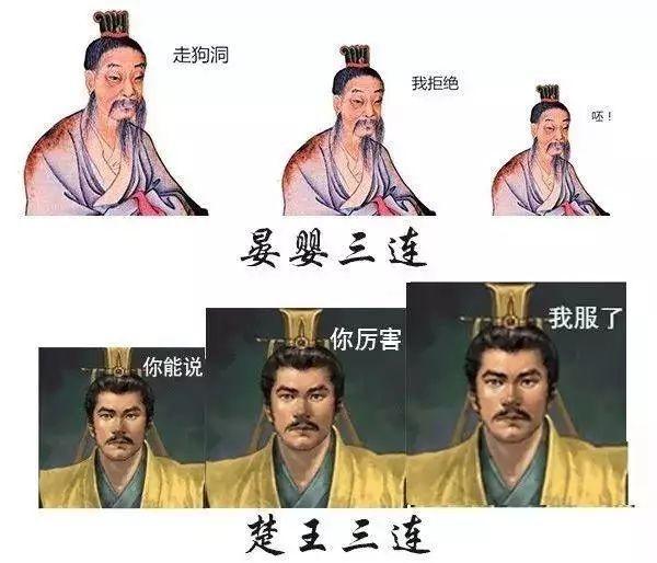 没想到历史靠表情学我要?!被惊醒表情包图片
