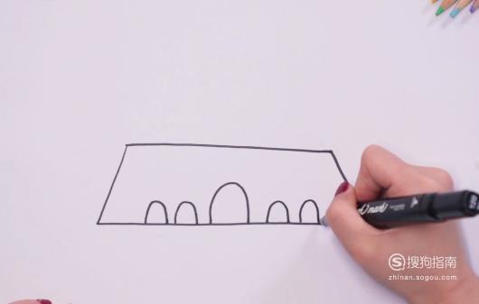 怎样画出北京天安门的简笔画? 划重点了