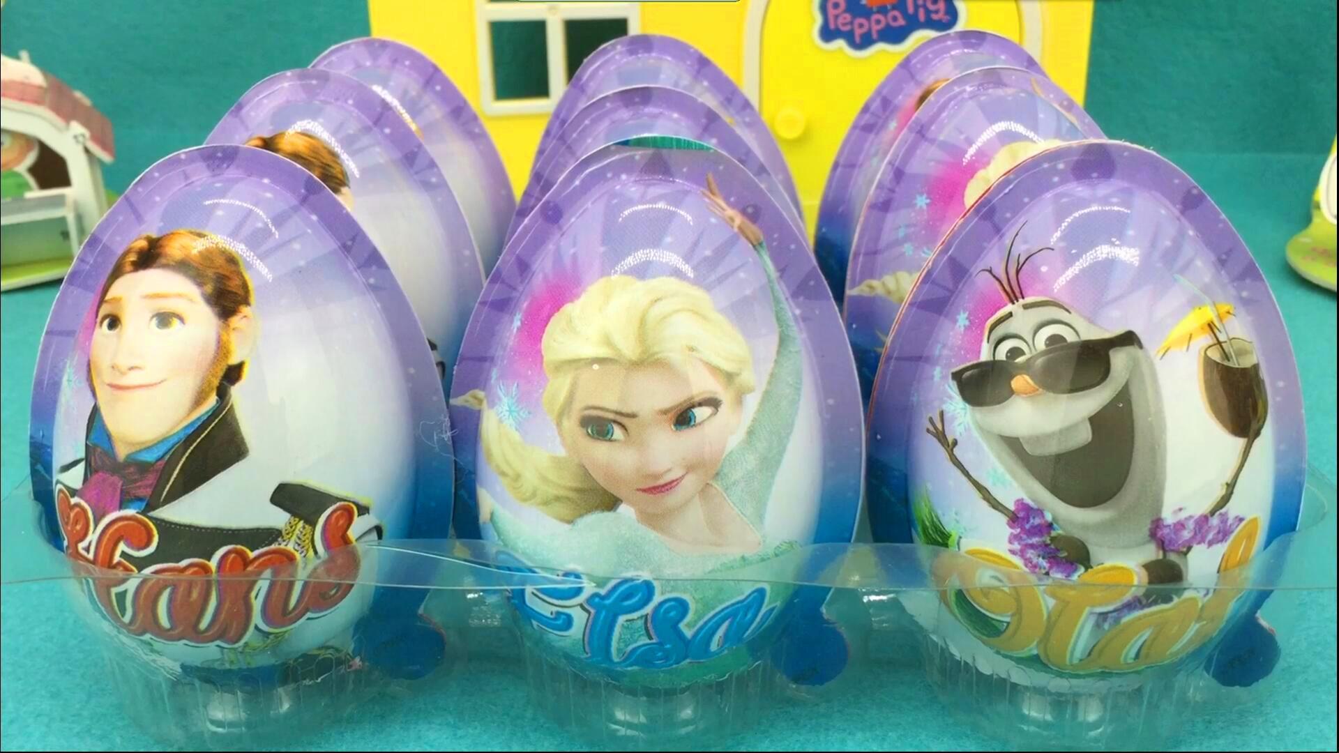 冰雪奇缘艾莎公主奇趣蛋 安娜公主惊喜蛋