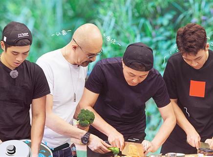 第8期:吴刚亲手教徐锦江做饭