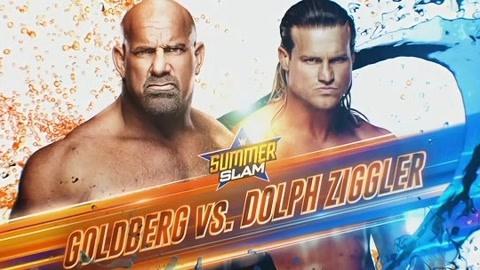 WWE夏日狂潮 高博VS道夫·齐格勒