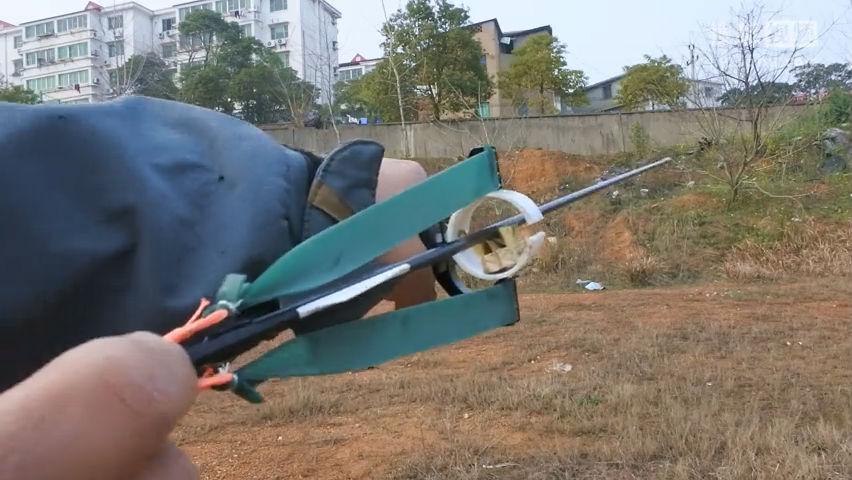 让你的弹弓能射箭,威力倍增