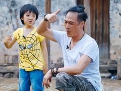 曝孙红雷爆炸头尴尬旧照 吴镇宇谈育儿经遭质疑