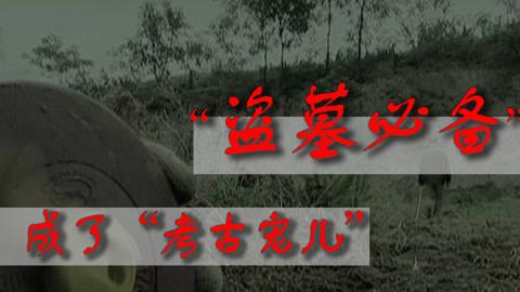 """从""""盗墓必备""""到考古""""宠儿"""",洛阳铲经历了什么?"""