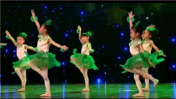 茉莉花舞蹈视频 《茉莉花》童心飞扬