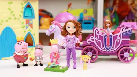 小公主苏菲亚骑马玩套马蹄铁游戏 24