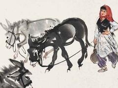 黄胄:新中国人物画的一面旗帜
