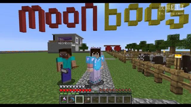 负豪渣解说;我的世界《明月庄主超平坦10》笨徒弟要挨打!Minecraft