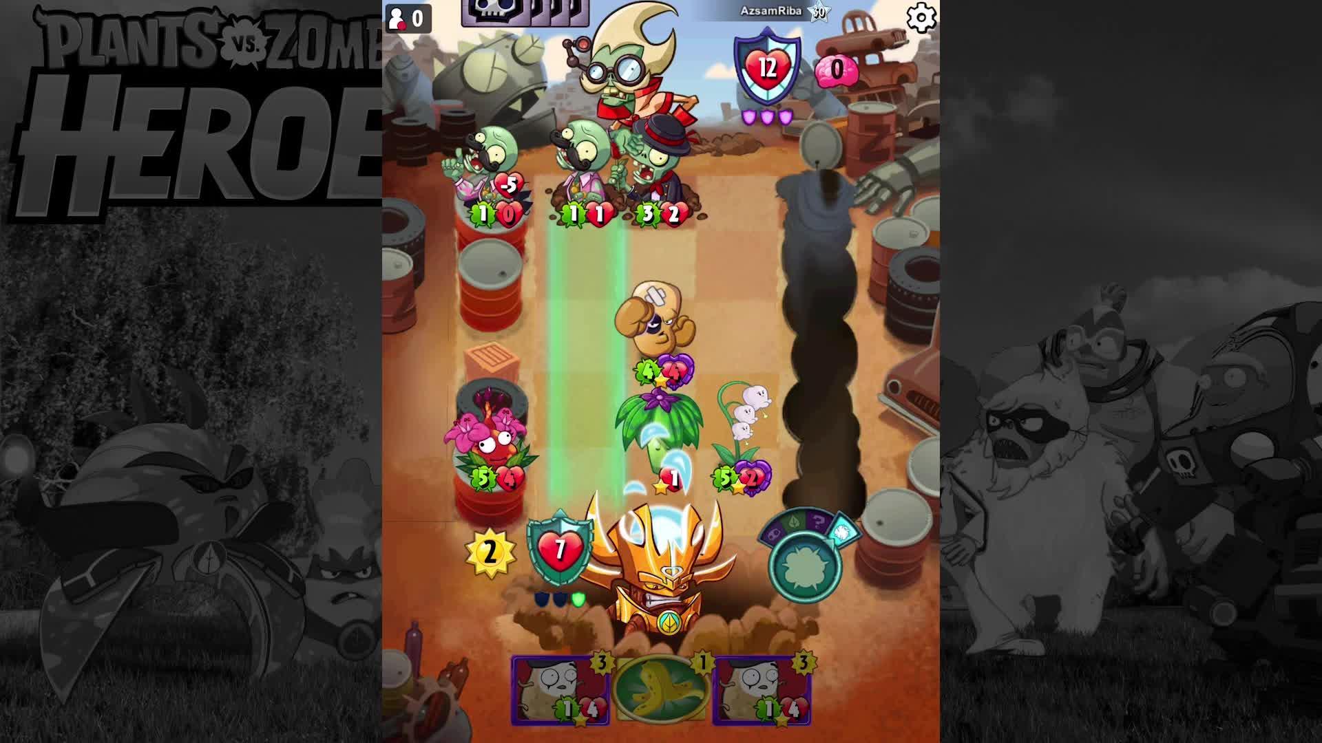 植物大战僵尸英雄 跳舞起来 麦丝解说