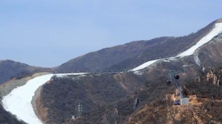 揭秘延庆国家高山滑雪中心,伊丽媛现场体验索道救援体验