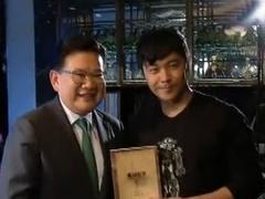 王宝强拍戏苦学广东话 记者采访大飙广普