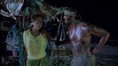 2男1女被困荒岛毫无道德