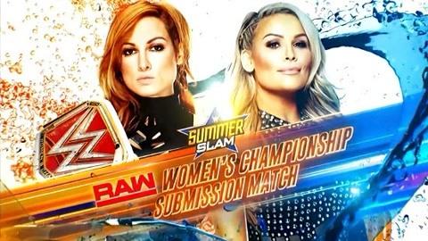 WWE夏日狂潮 贝基·林奇VS娜塔莉娅