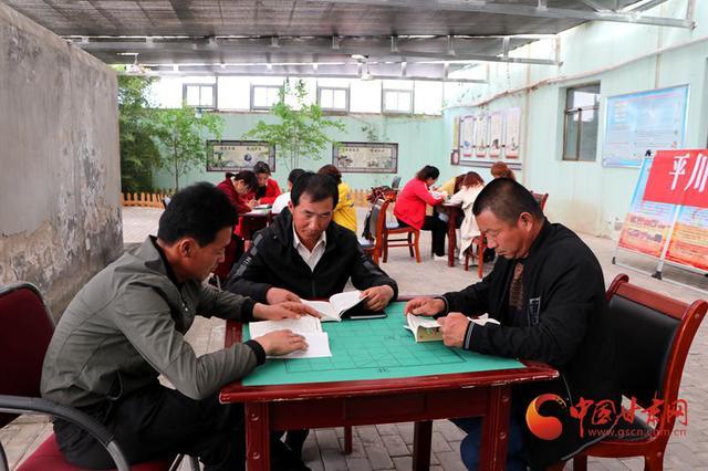 臨澤平川鎮:文明實踐促振興