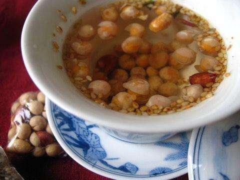 传统湖南姜盐茶的做法图片