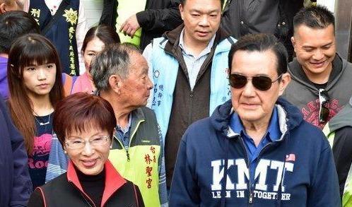 天龙八部sf发布网站马英九帮洪秀柱辅选,赞其把国民党的男人都比下去