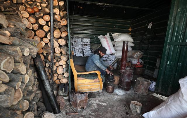 敘利亞:備柴過冬