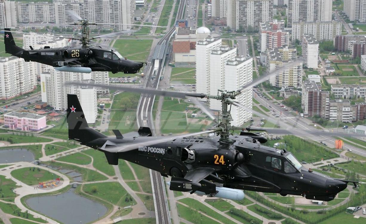 武裝直升機的獨苗!速度超快的卡50/52,缺點是旋翼會打架!