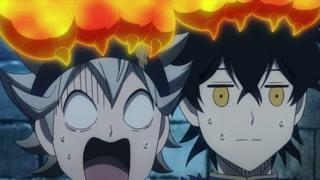 被母狮抓住的阿斯塔和尤诺 火焰猫爪超萌!
